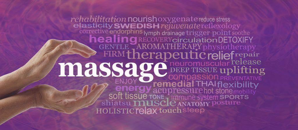 Massage wordcloud